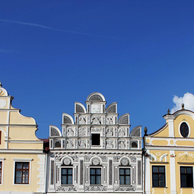 Czech town Telč