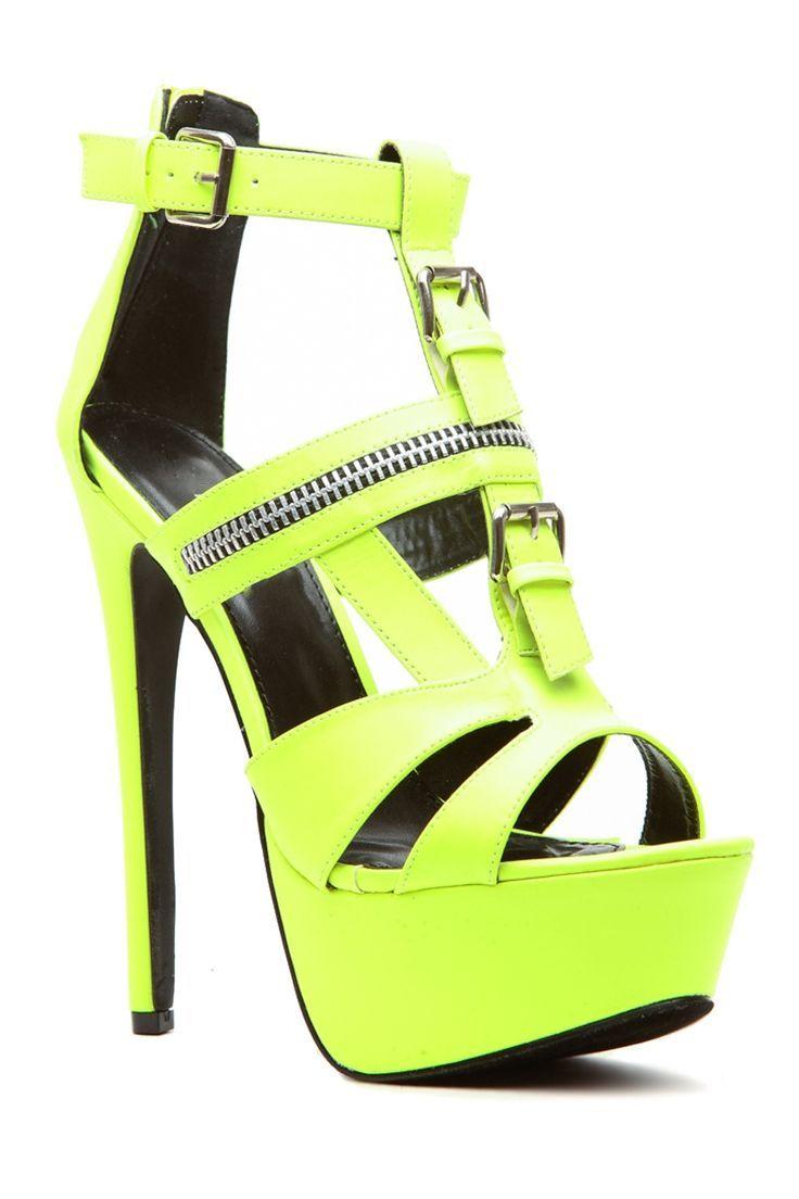 best 25  yellow high heels ideas on pinterest