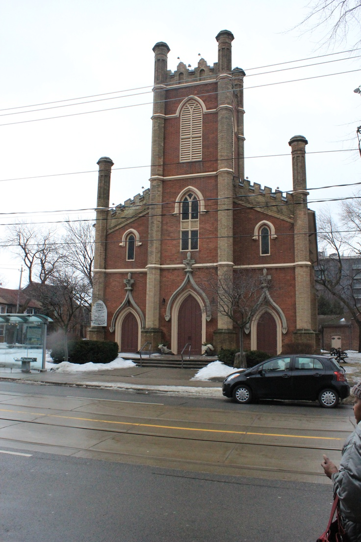The Anglican Church is a symbol of Corktown!