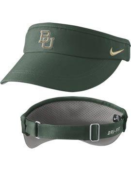 Nike #Baylor University Dri-Fit Sideline Visor: Nike Baylor