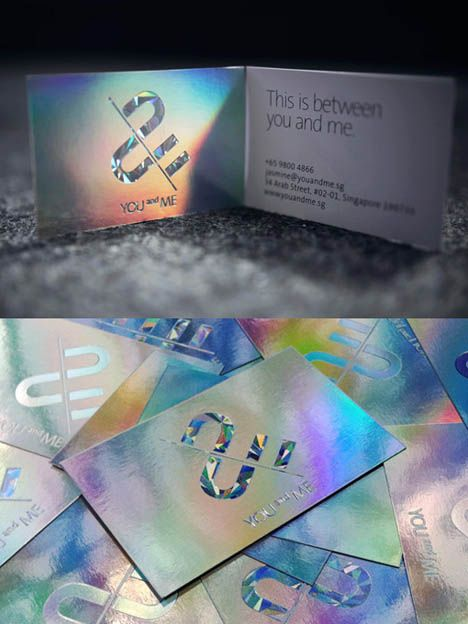 Mirrored Foils Business Card - Love them!!