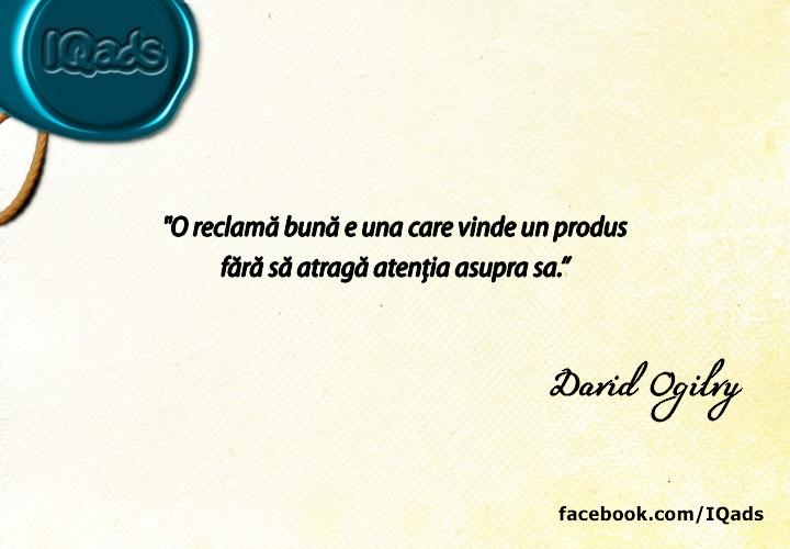 David Ogilvy  www.IQads.ro/expo_94