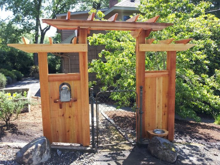 Cedar Arbor Clear Cedar Gate Pergola Cedar Mail Box