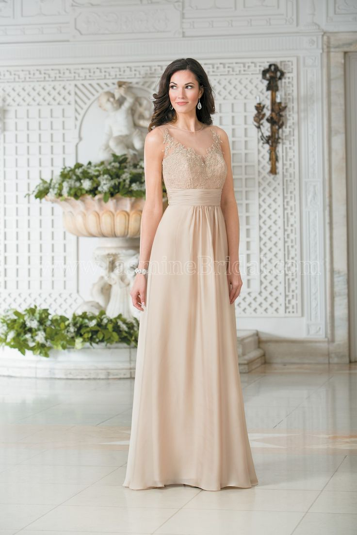 30 best bridesmaids jasmine belsoie images on pinterest bridal jasmine bridal bridesmaid dress belsoie style in sandstone an elegant dress made of amber satin chiffon this bridesmaids dress features beautiful lace ombrellifo Images