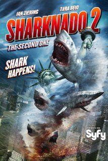 Sharknado 2: The Second One (2014) #TVMovie #Movie4k #Sharknado 2: The Second One (2014)