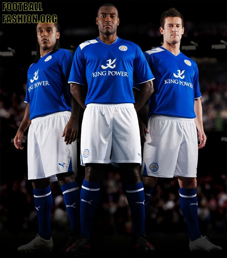 Leicester City FC PUMA 2012/12 Home Kit