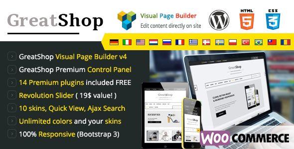 GreatShop - Premium WordPress WooCommerce theme