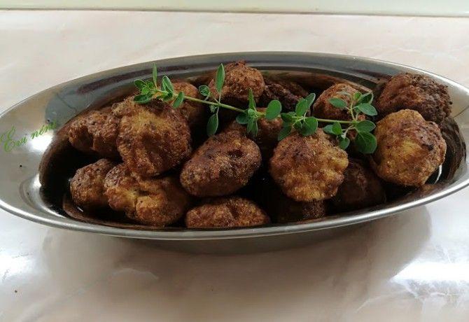 Padlizsánkrémes csirkefasírt