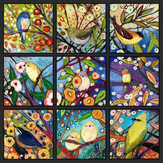 Een set van 9 beelden digitaal collaged om te vormen van dit leuke en levendige venster in de buitenwereld - uit mijn serie van kleine vierkante schilderijen genoemd, The NeverEnding Story - met inbegrip van de serie No 1, 18, 19, 20, 34, 35, 36, 50, 51 en 52  Titel: The NeverEnding Story, Set van 9B  Beschikbare beeld stijlen:  ** Poster afdrukken ** worden afgedrukt op een commerciële glanzende posterpapier  ** Afdrukken op papier ** worden afgedrukt op een gladde, matte en zachte witte…
