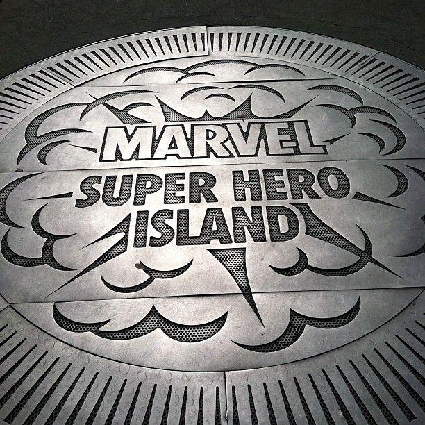 Marvel Superhero Island in Orlando, FL