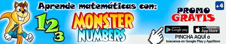 Juega y aprende con Monster Numbers
