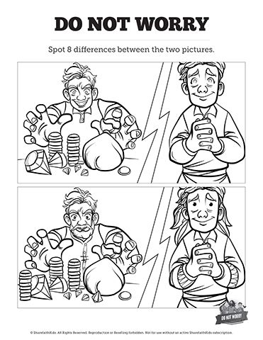 131 best Top Spot the Difference Bible Activities for Kids