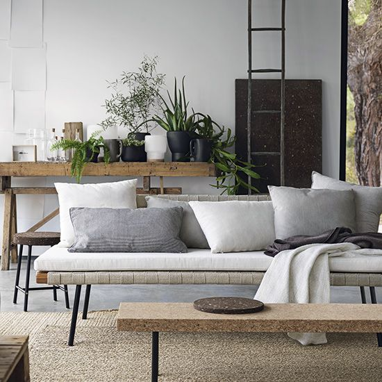 Cork | woven | natural materials | The Sinnerlig collection by Ilse Crawford for…
