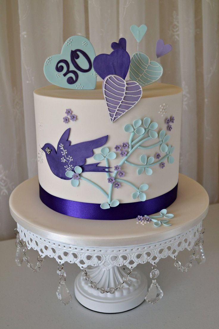 10 Ideas About 30th Birthday Cakes On Pinterest Fun