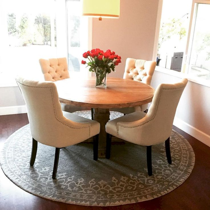 Small Round Dining Table