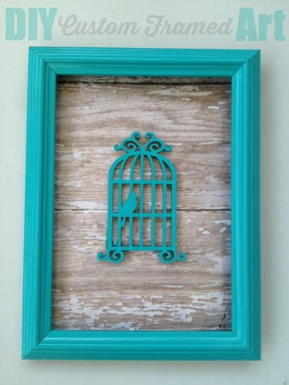create this simple and spring themed diy custom framed art a perfect mothers day craft - Diy Custom Framing