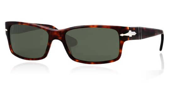 Persol for man po2803s - 24\/31 (HAVANA\/crystal green), Designer Sunglasses Caliber 58