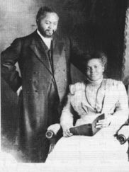 William Joseph Seymour,  May 2, 1870 - September 28, 1922 wife, Jennie Evans Moore, 1883-1936  (Azusa Street Revival, 1906)