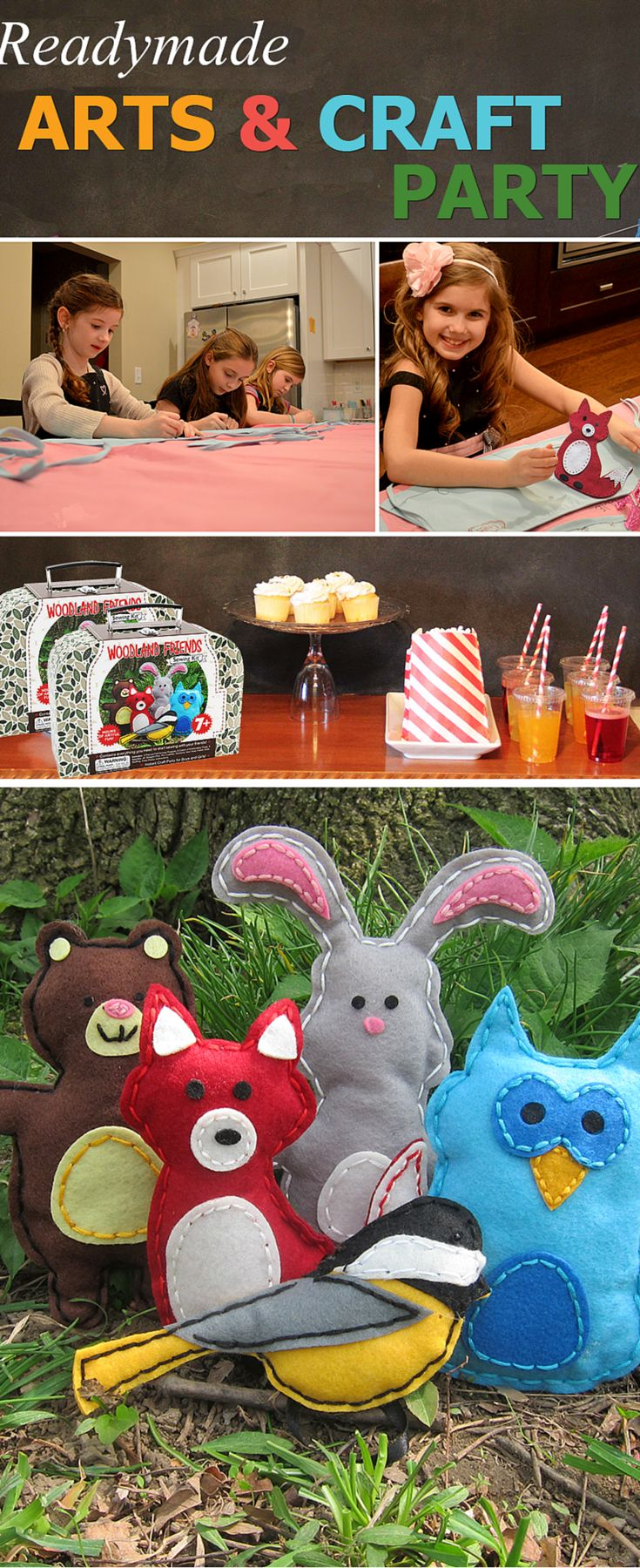 Arts and craft kits - Find This Pin And More On Diy Kids Sewing Crafts Kits For Boys Girls Woodland Sewing Projects Teaching Kids How To Sew