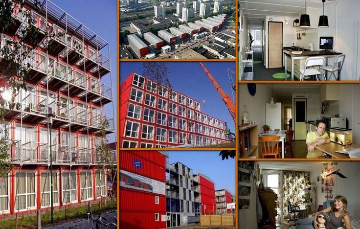 Keetwonen is in amsterdam it 39 s the largest container city for Low cost apartments amsterdam