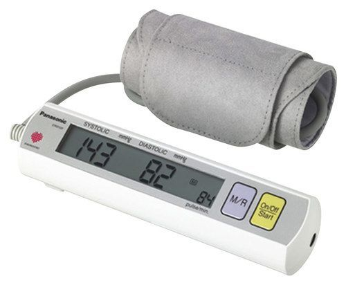 Panasonic - Diagnostec Automatic Blood Pressure Monitor with Digital Filter Technology - Gray