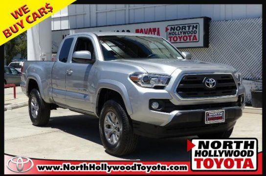 Truck 2016 Toyota Tacoma W Sr5 Package With 2 Door In North Hollywood Ca 91602