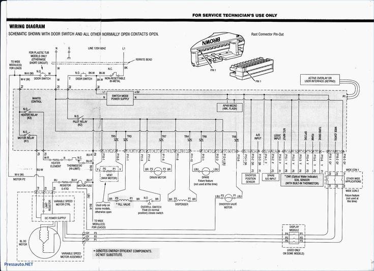 Wiring Diagram Of Washing Machine With, Ge Dryer Timer Wiring Diagram