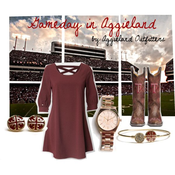 Cute dress but I would wear it for Mississippi State. Hail State♥