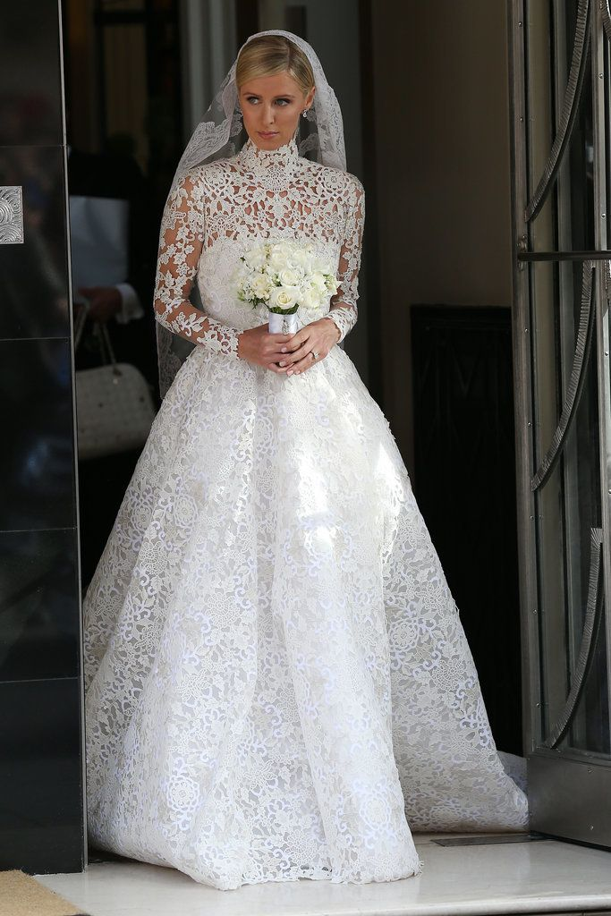 Nicky Hilton Makes a Case For Covering Up on Your Wedding Day: Considering Nicky Hilton had quite the wardrobe malfunction at Couture Fashion Week, it was probably wise that she went modest on her wedding day.