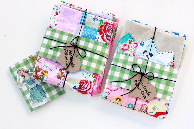 Pretty Handmade Pillowcases