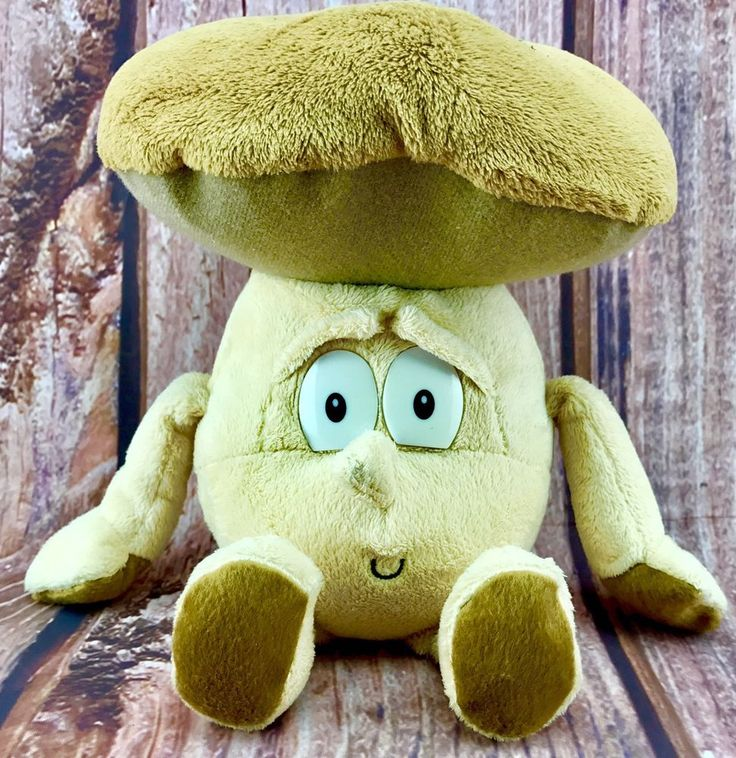 Co-Op Goodness Gang Max Manny Mushroom superfoodz Teddy Plush Toy collectable