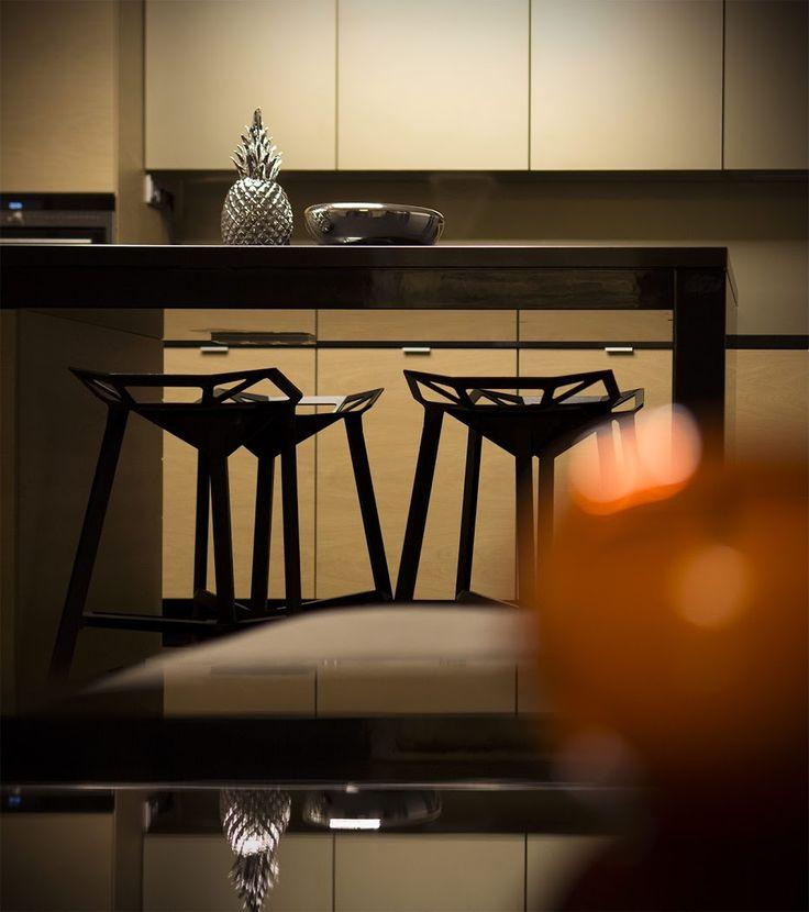 Kitchen bar, magis chair