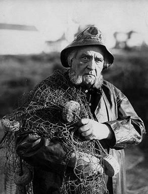Vintage fisherman.