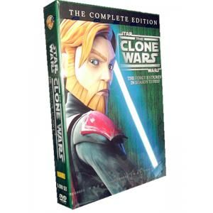 Star Wars The Clone Wars Season 6 DVD Box Set is available with big discount price. Only US$32.99,it's good to buy cheap Star Wars The Clone Wars Season 6 DVD for sale at this moment.