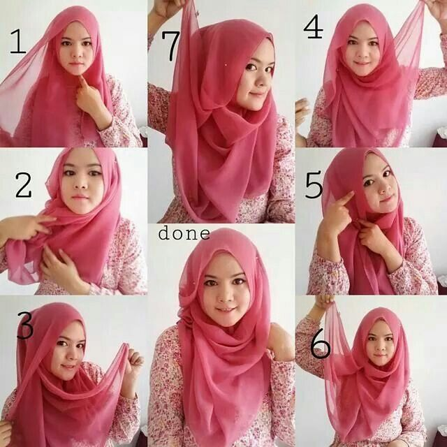 17 Best images about hijab on Pinterest | Simple hijab ...