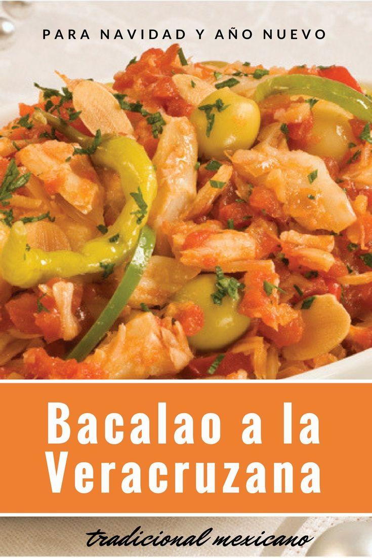En México, uno de los platillos tradicionales de Navidad y Año Nuevo es elbacalao. Muchos llaman a esta preparación bacalao a la vizcaína a pesar de que este término es incorrecto, puesto que la preparación a la vizcaína es diferente y con muchos menos ingredientes. Creo es más correcto llamarlo Bacalao a