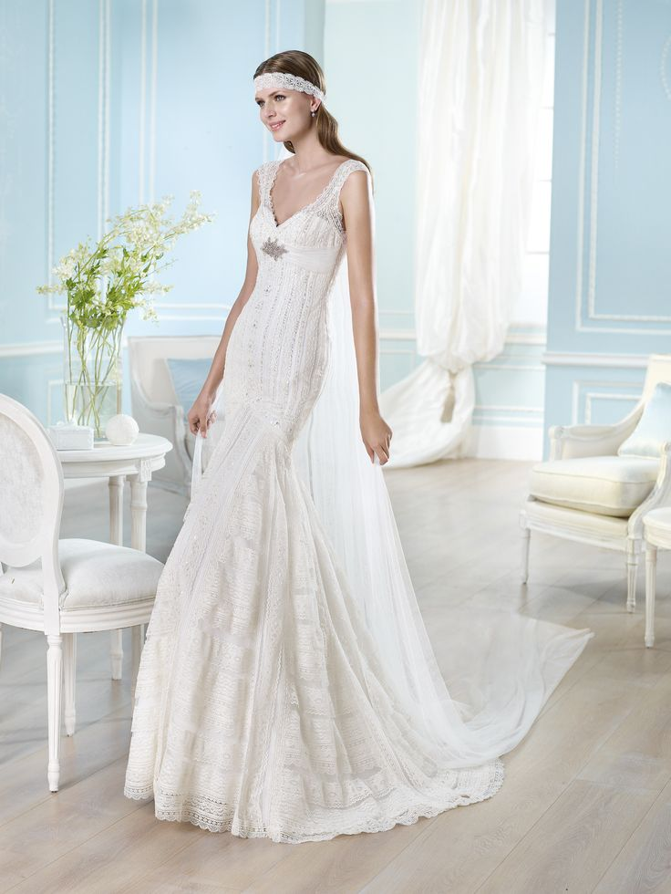 HARUKA blanco t40 - OUTLET grupo Pronovias - OUTLET -- Sedka Novias