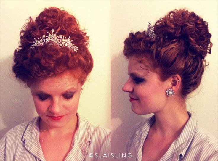 irish dance hair wigs