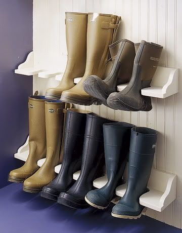 entryway and mudroom ideas - I need this!!!: Addition Ideas, Organizations Ideas, Boots Racks, Mud Rooms, Boots Storage, Rooms Ideas, Rubber Boots, Storage Ideas, In Law