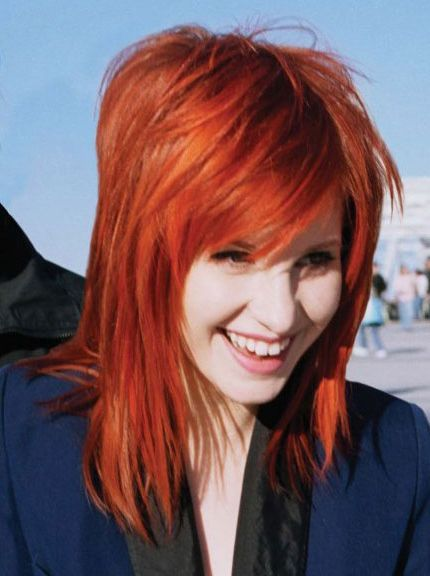 hayley williams hair - Google Search