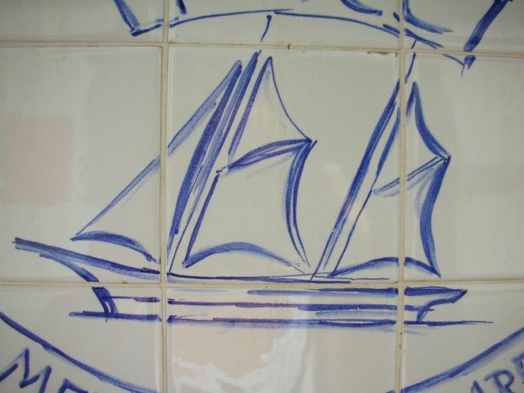 veliero di ceramica - forSailing