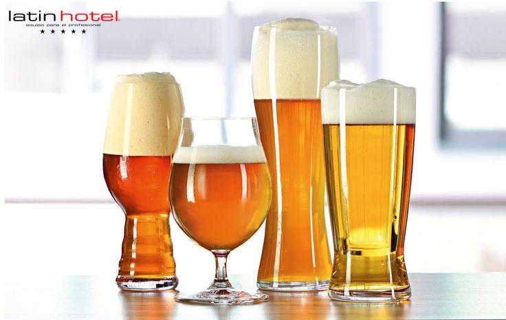 ¡Brindemos por la cerveza artesanal!  A cada estilo, su vaso de cristal. Entérate por qué es tan importante la elección de cristalería adecuada para degustar el oro líquido.  http://www.latinhotel.com