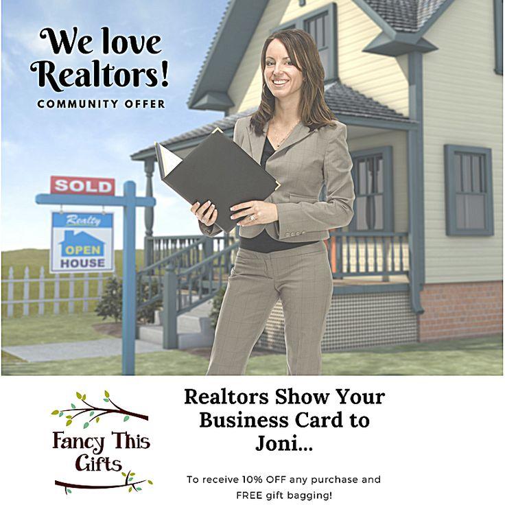 We Love Realtors   Ladner/FancyThisGifts
