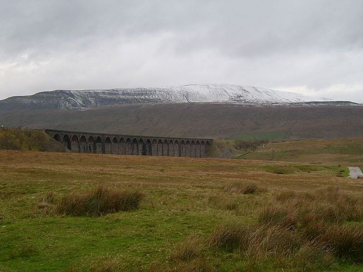 Whernside, one of the so called Three Peaks of the Yorkshire Dales National Park. 2,416 ft.