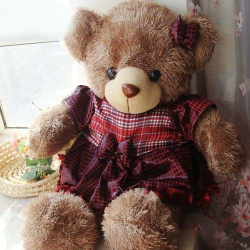 Large-size Soft Plush Teddy Bear Toy as Birthday Gift for Childrenat EVToys.com