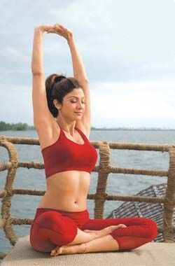 Shilpa Shetty- YOGA!!
