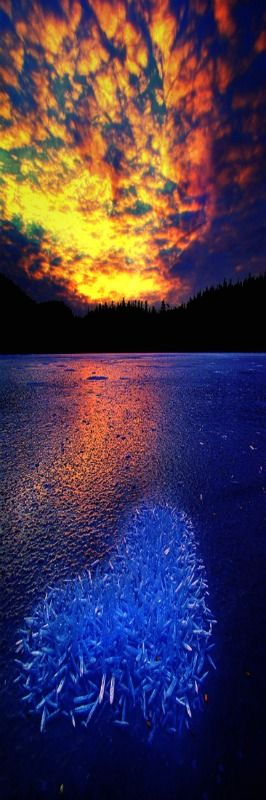 winter sunsetPhotograph In the Heart of Winter by Carlos Rojas on 500px. . ICE Ketchikan, Alaska
