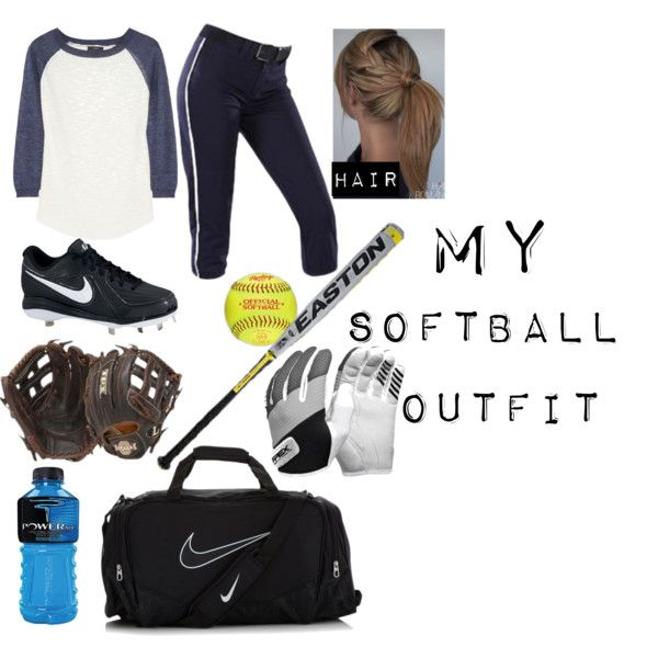 """My Softball Outfit"" by jasmineyanez on Polyvore"