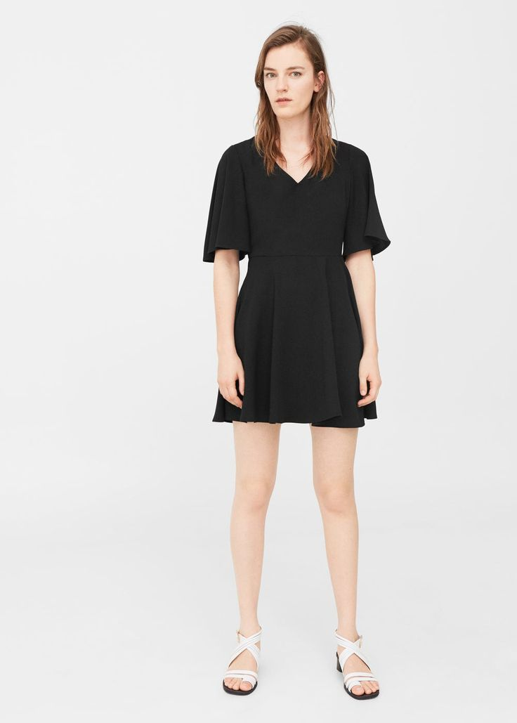 Sukienka rozszerzana u dołu | MANGO