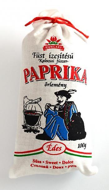 Wędzona papryka słodka (łagodna) w proszku - oryginalny produkt węgierski